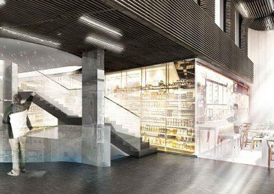 Food Court in Passeig de Gràcia